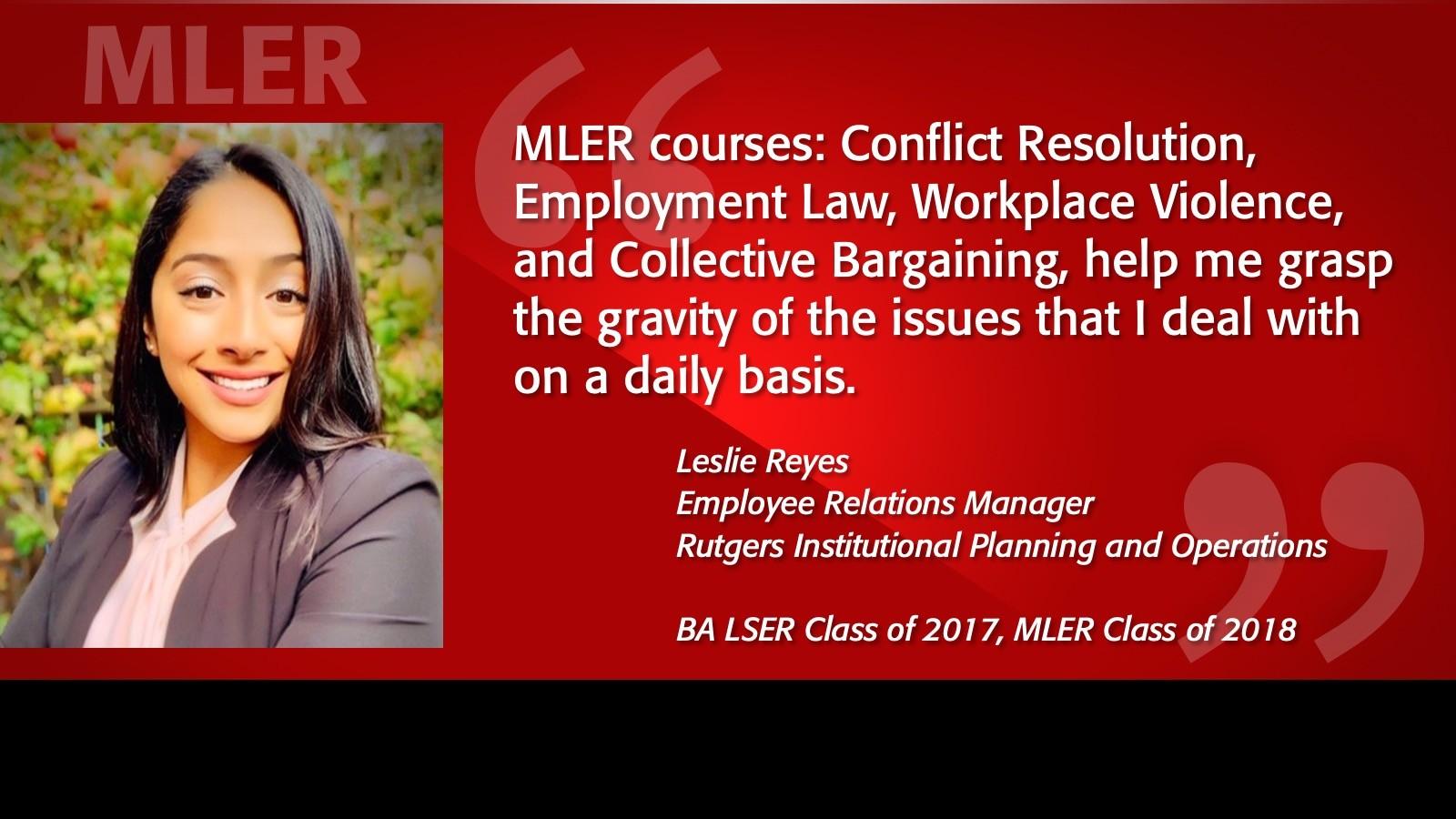 Image of Leslie Reyes Alumni Testimonial