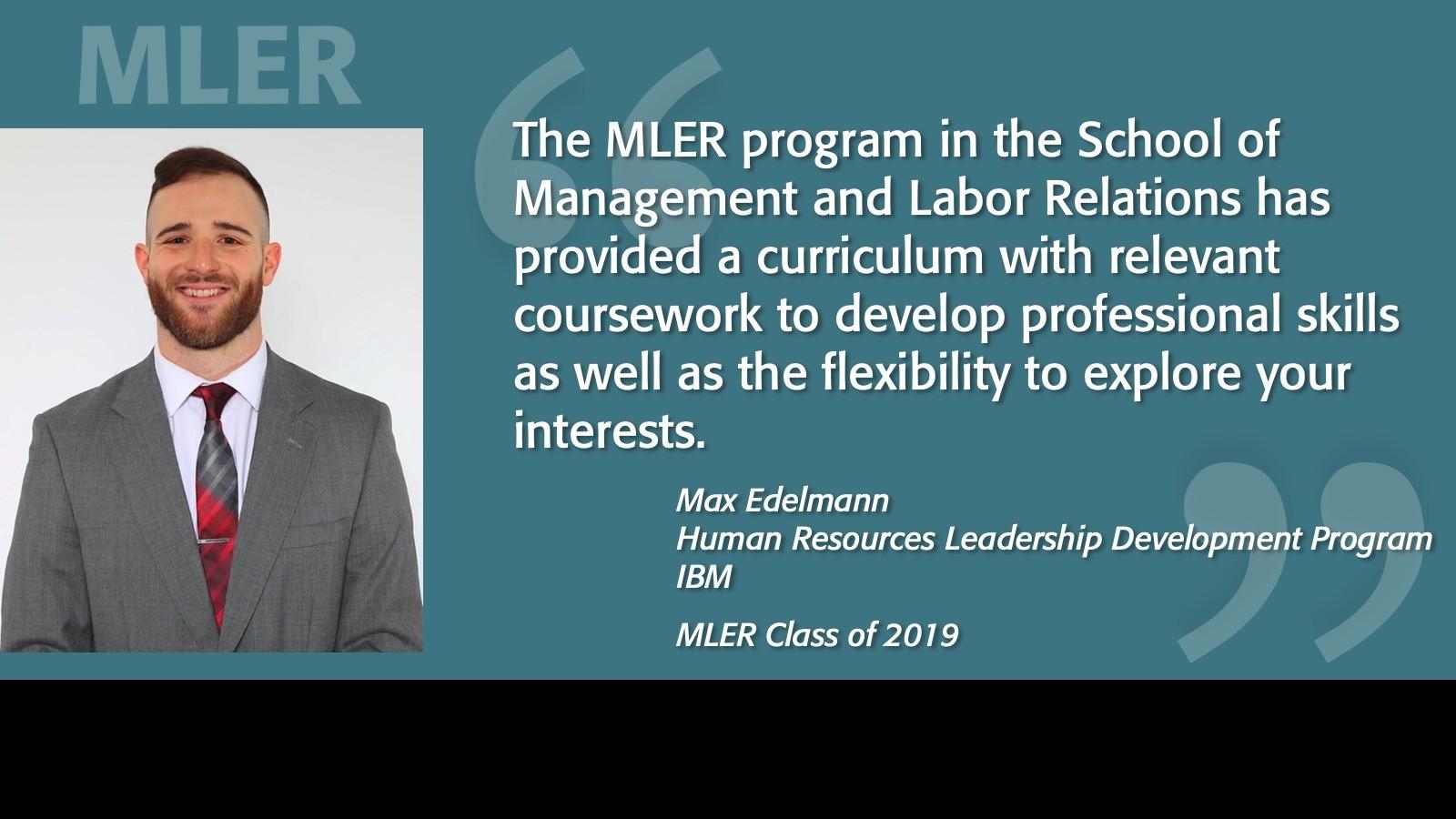 Image of MLER Alumni Spotlight - Max Edelmann