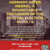 Image of Germany After Merkel Roundtable Discussion