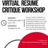 Image of Virtual Resume Critique Workshop