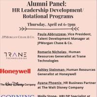 Alumni Panel: HR Leadership Development Programs Flyer