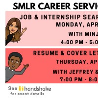 Image of Career Services Webinar for 4/22