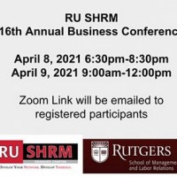 Image of RU SHRM 16th Annual Business Conference Flyer