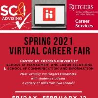 Spring 2021 Virtual Career Fair Image