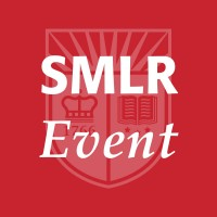 image of Rutgers shield with SMLR event title