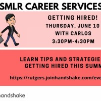Image of Career Services Webinar on June 16 and 17