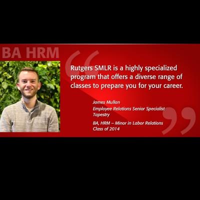 BA HRM Alumni Spotlight - James Mullan