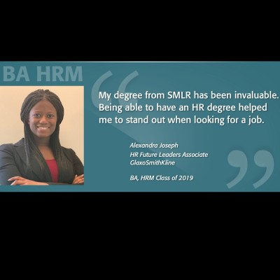 BA HRM Alumni Spotlight - Alexandra Joseph
