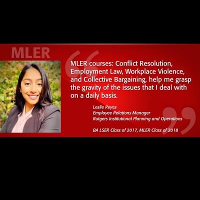 Image of MLER Alumni Testimonial - Leslie Reyes